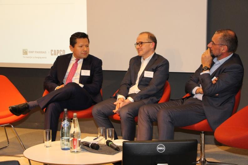 bnp paribas and HSBC panel