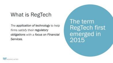 what is regtech
